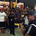 @TigresOficial fue despedido de México con su hinchada copando el aeropuerto de Monterrey ▶ http://t.co/EhPOHR4EXo http://t.co/V3Q6xdcXVy