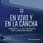 ¡Sé parte de la #InauguraciónRayada! Transmitimos #EnVivoyEnLaCancha: http://t.co/UIY6NLWn7d http://t.co/mwpIe6VTHj