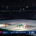 Se entona el Himno Nacional Mexicano #InauguraciónRayada http://t.co/pXWlk2OdTB
