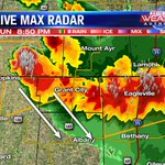 Storms are making their way into Nodaway and Worth Counties #kq2 #weather http://t.co/isuqMI3Osv