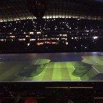 Espectacular la inauguración del Estadio BBVA Bancomer. http://t.co/rlE9SDRAog