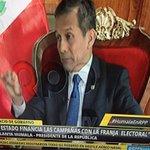 """@Ollanta_HumalaT sobre los que dejaron Gana Perú: """"quedaron los verdaderos nacionalistas pero no voy a reprobarlo"""" http://t.co/VHbd75Nn9v"""