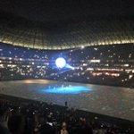 ¡Una esfera gigante ingresa a la cancha de la nueva casa de los #Rayados! #InauguracionRayada http://t.co/i19VVYf5Hr