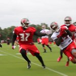 Video of Day 2 of Bucs Training Camp with Jameis Winston, Kenny Bell, Mike Evans and more - http://t.co/rklpwZnJoj http://t.co/9AVqd5u3z1