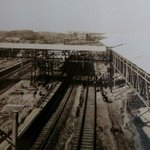 In the making! #Mumbai Central stn under construction. Seen here suburban pfs 3-4, 1-2 #oldbombay @mumbaiheritage http://t.co/CTRfOG31IU