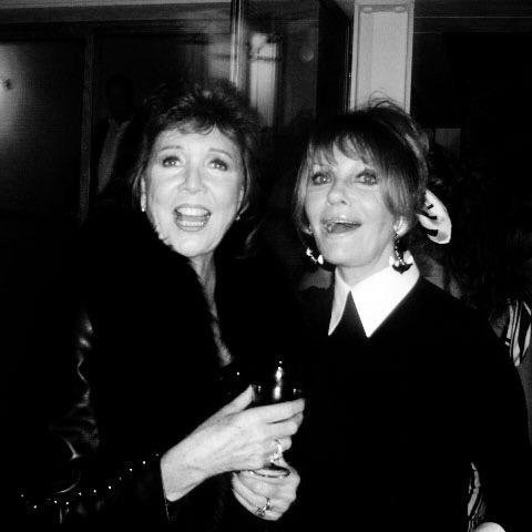 Cilla Black and Pat Booth at my birthday in 2000. Both lovely ladies, both gone. #shootingstars #RIP #CillaBlack http://t.co/2NSwhTKPEa