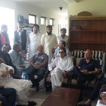 Sindh Council Members Chairman #PTI. With Organizer Sindh Dr @ArifAlvi and Karachi President @AliHZaidiPTI and Teams http://t.co/8W7HBxrtFP