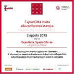 Oggi alle 12 vi aspettiamo in @ExpoGate per una chiacchierata su #ExpoinCittà! #MilanoaplacetoBE @ComuneMI http://t.co/4ZG4LLywkO