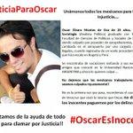 @OscarEsInocente fue detenido injustamente en México luego de estar en Bs.As. #JusticiaParaOscar cc @maximmontenegro http://t.co/Z8OWt34CdJ