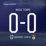 ¡Termina la primera mitad! Marcador en el Estadio @BBVABancomer @Rayados 0-0 @SL_Benfica #MTYvsBEN http://t.co/i0goNLoAdX