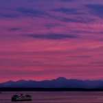 When the sky turned pink tonight! #seattle #sunset http://t.co/BuJ3f5VdK5