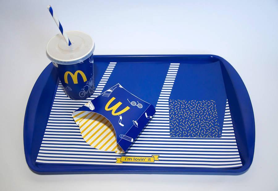 ดีไซน์เนอร์ในกรุงเยรูซาเล็ม ทดลองปรับสีของ McDonald's ใหม่โดยใช้สีน้ำเงินแทนแดง ดูดีไปอีกแบบ http://t.co/N9KM0qjkUp