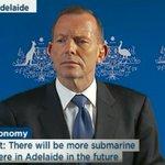 """@Qldaah: Tone is going to construct submarine jobs. #auspol #saparli http://t.co/e8KSt9VQBE""Who believes this person?"