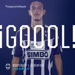 48 MTY 1-0 BEN | ¡César Montes anotó el primer gol en el Estadio @BBVABancomer! #MTYvsBEN http://t.co/v5FP0CypJB