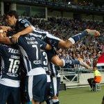 ¡Finaliza el partido! @Rayados culmina la inauguración de su nuevo estadio con victoria de 3-0 sobre @SL_Benfica http://t.co/mYgdEkbG3z