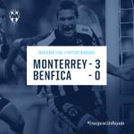 En el partido inaugural #Rayados vence 3-0 al #Benfica en el #EstadioBBVABancomer http://t.co/yOGzG6TLxh