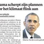 Obama wil uitstoot broeikasgassen verder beperken #klimaat @trouw http://t.co/XZv3kiLIvP