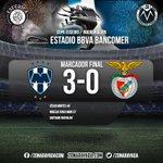 MARCADOR FINAL @esferica1863 | @Rayados se impone a @SL_Benfica #RayadosEnVivo http://t.co/Qx2RRV4hGn