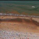 Ga niet de zee in! Rode alg bedreigt de Noordzeekust http://t.co/2OMGK3UgaW http://t.co/icCg3XcVy5