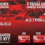 Kausikortit loppukaudeksi puoleen hintaan! http://t.co/8En4ag1ogP #HIFK #HIFKFotboll #Veikkausliiga #Helsinki http://t.co/nusAjZ1joc