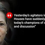 Sonia Gandhi says protests will not end without resignations over #Lalitgate, #Vyapam http://t.co/zXICDknypR