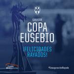 ¡Se entrega la Copa Eusebio a #Rayados en la nueva casa albiazul, el Estadio @BBVABancomer ! #InauguraciónRayada http://t.co/FWgRYNbjkr