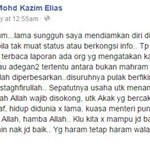 "Kazim Elias tegur menteri, ""Kalau tak mampu jadi baik, jangan halang orang lain jadi baik.""  http://t.co/VAIcRdoCh2 http://t.co/WleQHaDHgq"