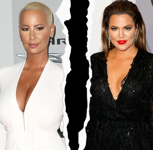 How does Amber Rose REALLY feel about Kylie Jenner? (via @toofab)