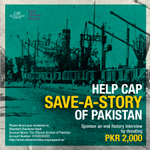 You can #help us #saveastory of #Pakistan for just PKR 2000. Save a part of our vital #heritage. #HistoryMatters http://t.co/vF0qrO3SAa