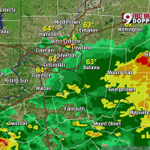 8 AM radar: Widespread rain continues east of Cincinnati, isolated storm over West Chester. #CincyWx @wcpo http://t.co/vUtgTBWc7e