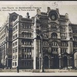 Old Post Office Building #Belgrade #Serbia | Стари изглед поште у Савској улици #Београд. http://t.co/Qf4KHMKwKt http://t.co/w42yqtVAwD