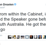 More information surfacing about how Bronwyn Bishop was OUSTED. Abbott sacked her to save himself. Surprise! #AusPol http://t.co/DZ7TlnHTnX