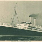 Im a boat person. I arrived in Australia in 1951 on the SS Ormonde. #refugees #Auspol http://t.co/Qbsbp0L57A