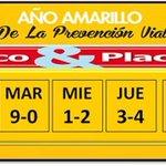 #TengaEnCuenta El #PicoYPlaca para los lunes en Bucaramanga es para las terminadas en 7 y 8. #BLU960AM http://t.co/EVRltgQpdT