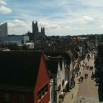 Beautiful #canterbury from the #westgatetowers. A view point not to be missed. #sunshine http://t.co/6zkXinVJX5