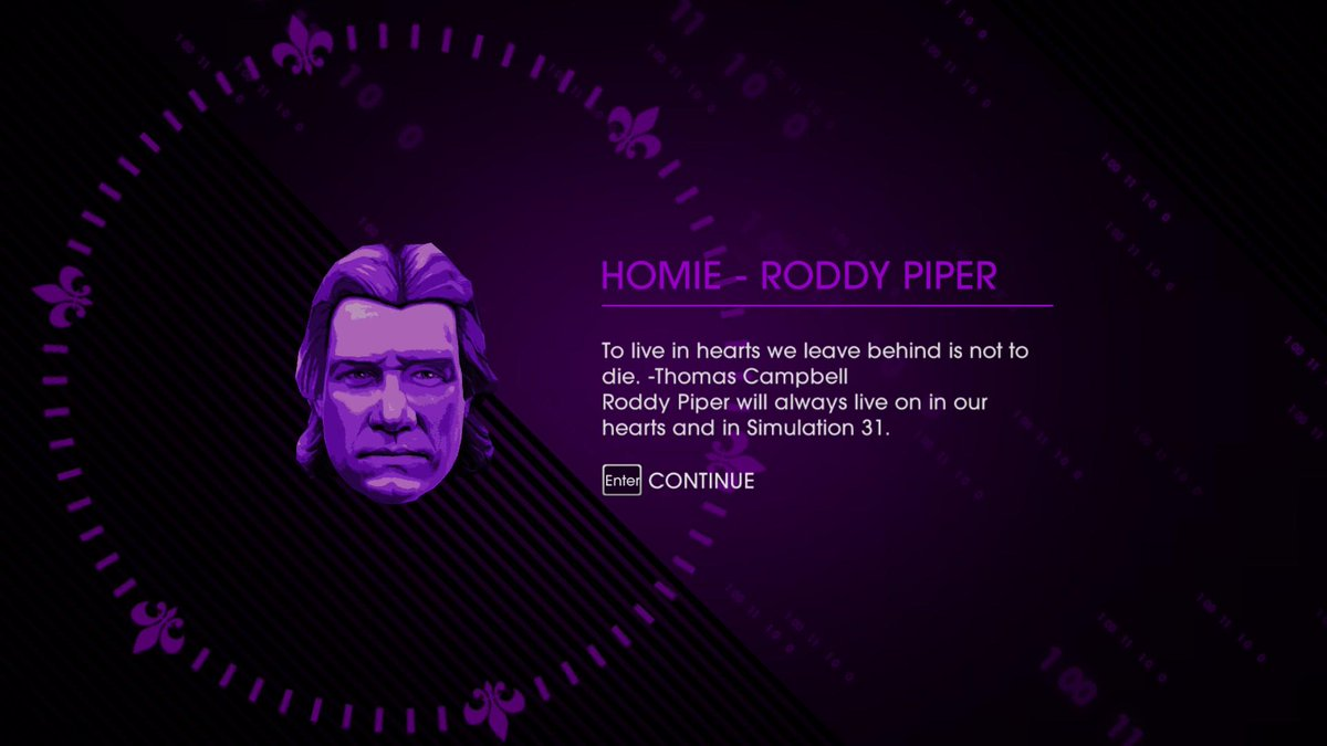 Roddy Piper has passed away. It was an honor and privilege for all of us at Volition to have worked with him on SRIV. http://t.co/qFzMocZv8K