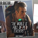 #IfAnythingSchoolTaughtMe that the world is full of PE teachers... #DoctorWho http://t.co/slFyTSsbfe