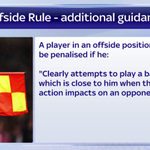 With the excitement of the new football season comes another change to the offside rule. Heres how it works. #SSNHQ http://t.co/LzocXdDQHw