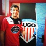 Ángel Dealbert , ya entrenando en su primera sesión con el @CDeportivoLugo ¡Vamos! #ForzaLugo http://t.co/xQ0QqK6A2u