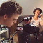 He keeps getting phones calls while we are meant to be filming! ???? @Joe_Sugg http://t.co/nLI45Eromv