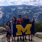 Wherever you go, #GoBlue!! Pictured: one of our team members during his internship at Apple this summer #UmichEngin http://t.co/vfNrberuAa