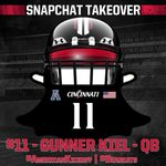 ICYMI: #Bearcats QB @GunnerKiel is taking over the Bearcats_FB snapchat for @American_FB media days! #AmericanKickoff http://t.co/YcZgmRlCNW
