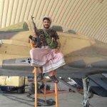 صورة لأحد افراد رجال المقاومة من داخل #قاعدة_العند_الجوية سابقاً #قاعدة_الملك_سلمان_الجوية http://t.co/cU0nsGRZe3