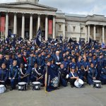 Commissioner & @MayorofLondon celebrated the achievements of our @MPSCadets at a parade today in Trafalgar Sq #London http://t.co/zrz6LBRMzp