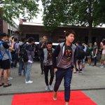 Team Arrivals #TI5 http://t.co/7X3Evfburs