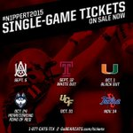 Single-game tickets are on sale now! // http://t.co/PYHCH3VCIH // 1-877-CATS-TIX http://t.co/5L9mDSxho4