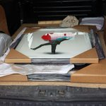 #Harrogate #London couriers. Pictures delivered #locally for @RedHouseGallery today. @UKBusinessRT http://t.co/8OB0k7kpr7