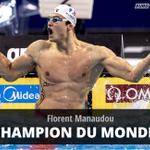 LOR POUR MANAUDOU ! Le Français décroche sur 50m papillon son 1er titre mondial individuel #Kazan2015 http://t.co/Z6tIJVzv6e