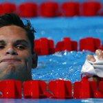 """Les cinq choses à savoir sur @FlorentManaudou, le """"Usain Bolt"""" des bassins ➡️ http://t.co/h3wJDViWQ6 http://t.co/K3tlZb6nF3"""