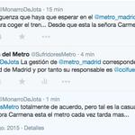 """Hoy en #CuartoMilenio: """"El Metro tarda más desde que está Manuela Carmena aunque quien lo gestione sea Cifuentes"""" http://t.co/5z3y4hpkuU"""